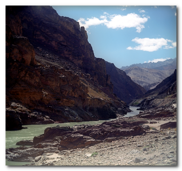 Zanskar River Ladakh Jammu and Kashmir