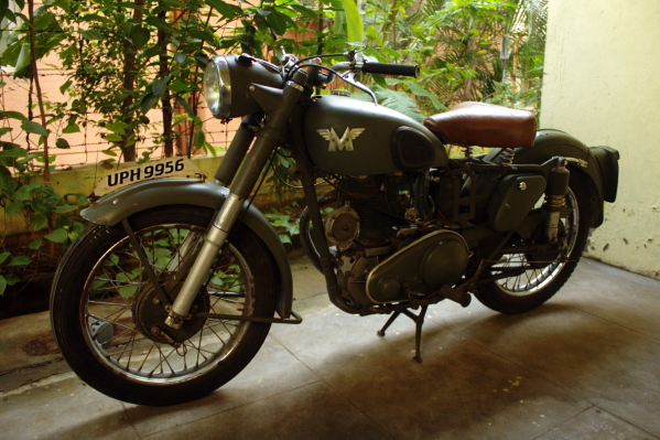 War Motorcycles - Matchless G3L