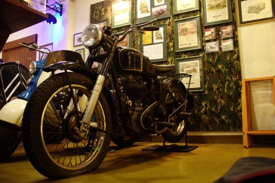 1946 AJS 16M Classic Motorcycle