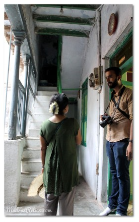 Inside a heritage home in Mylapore