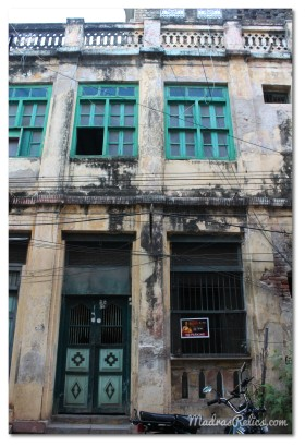 Heritage house on Nadu Street Mylapore